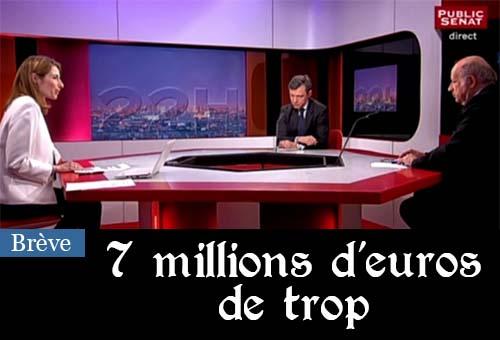 Fusion des chaines parlementaires : le Sénat refuse de faire 7 millions d'euros d'économies
