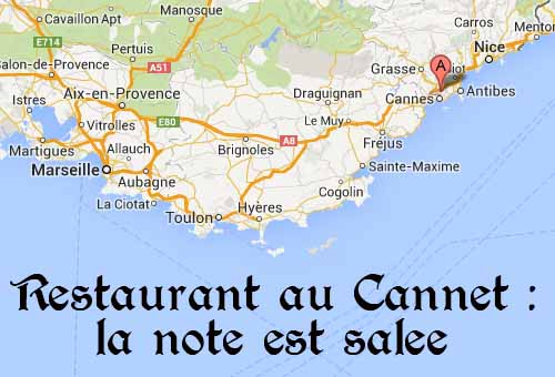 Restaurant au Cannet