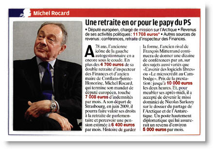 Le revenu de Michel Rocard