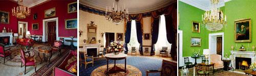 Salons de la Maison blanche