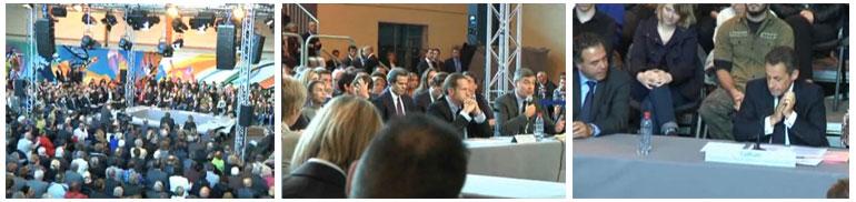 Sarkozy à Chaumont