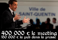 Sarkozy en meeting