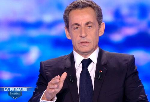 Sarkozy, débat primaire 2016
