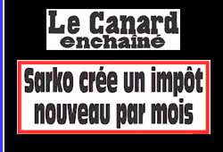 Sarkozy, impôts 2009