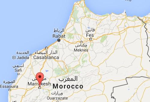 Sarkozy à Marrakech