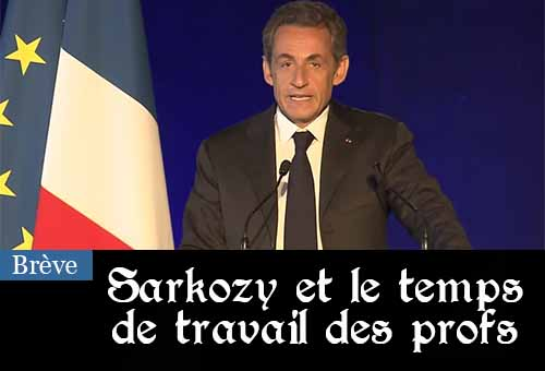 Sarkozy au meeting de Bordeaux