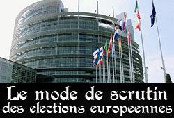 Scrutin des élections européennes