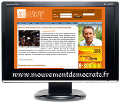 Mouvementdemocrate.fr