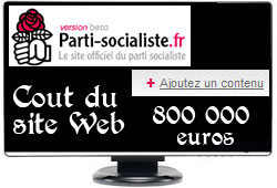 Site web du PS