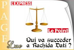 Succession de Rachida Dati