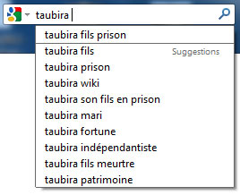 Taubira fils prison