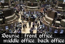 Trader au Front Office