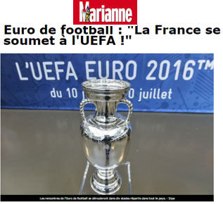 UEFA - exonérations fiscales