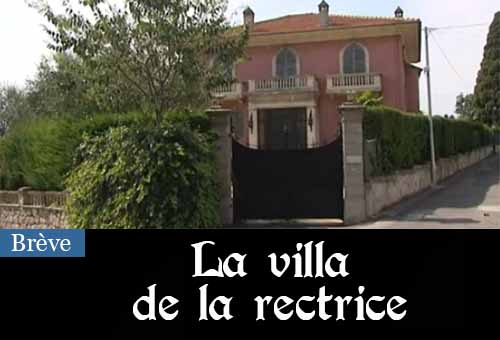 Villa de la rectrice