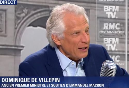Villepin, ancien Premier ministre