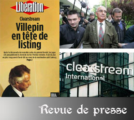 Villepin et l'affaire Clearstream