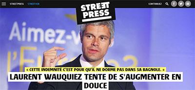 Wauquiez, streetpress