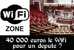 Wifi à l'Assemblée nationale