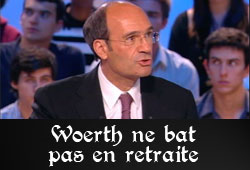 Woerth et l'affaire Bettencourt